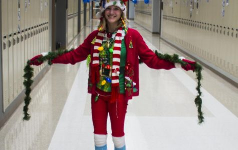 Students Get Creative with Dress for Spirit Week