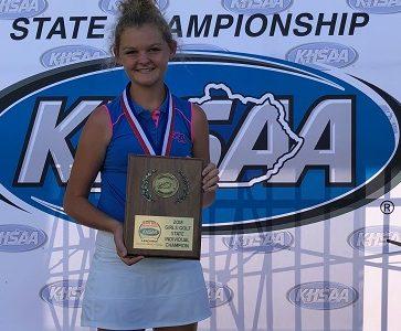 Laney Frye:  Miss Kentucky Golf