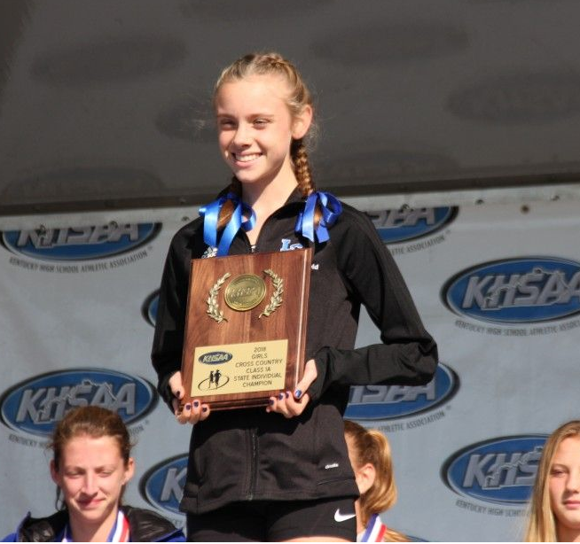 Anna+Rupp%2C+9%2C+wins+the+state+championship+in+girls%27+cross+country.