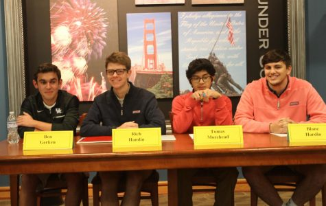 Students Shine During Anxiety-Inducing Panel Discussions