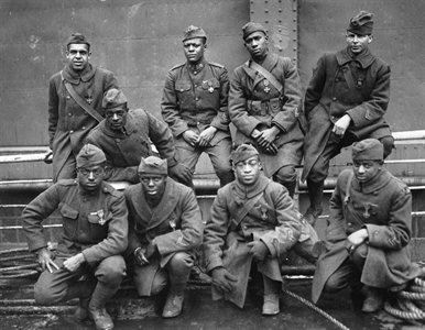 The 369th Infantry Regiment served admirably in World War I, despite the racism they faced.