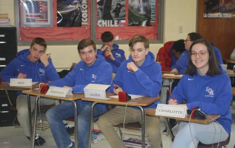 Academic Team Finishes Season at District Tournament