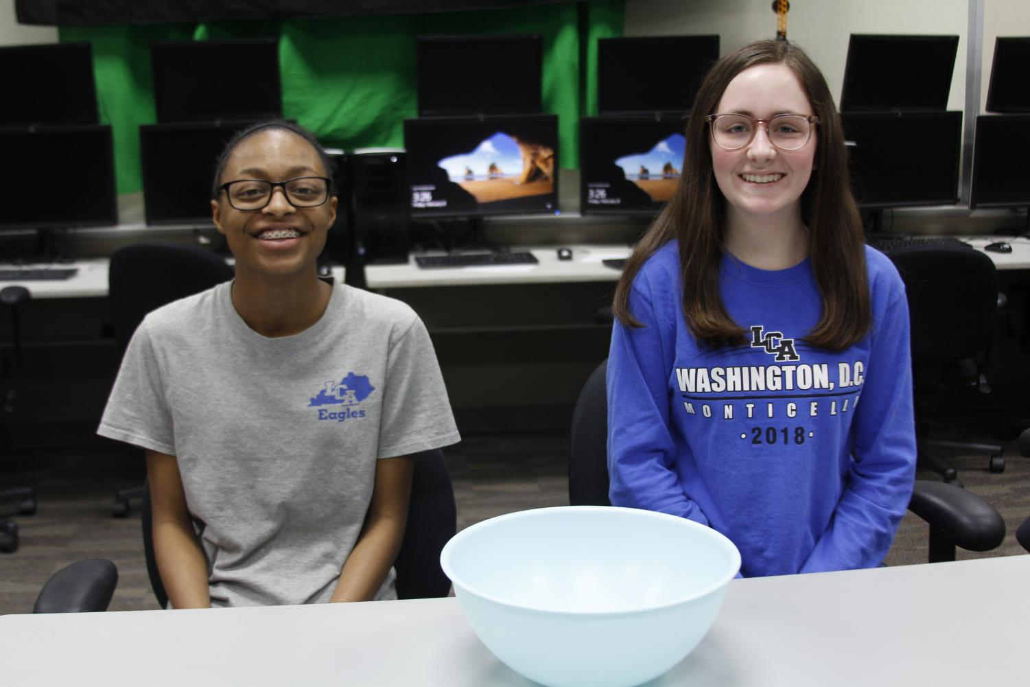 Freshmen Jessie Carpenter and Claire Moore started the Cooking Club.