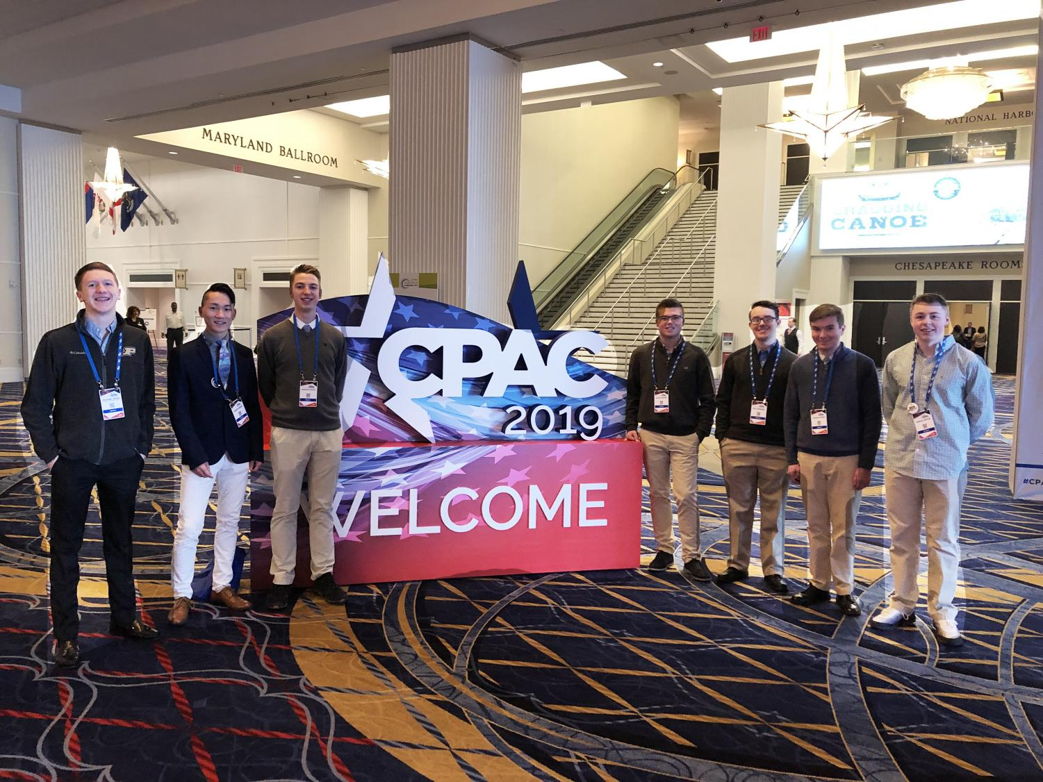 APUSH students head to Washington, DC for the annual CPAC conference.