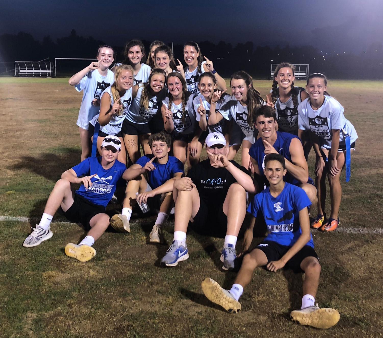 The Class of 2021 won the Powder Puff tournament as freshmen.