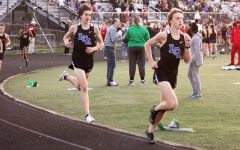 LCA Track Team Takes Action