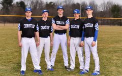 Senior Baseball Players Say Goodbye