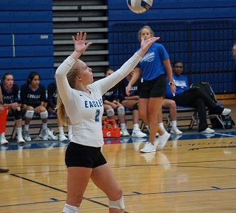 LCA Volleyball Beats George Rogers Clark