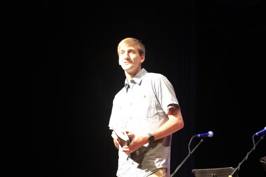 T.J.+Classen+from+Lex+City+Church+was+the+featured+speaker+in+Chapel+on+September+18.