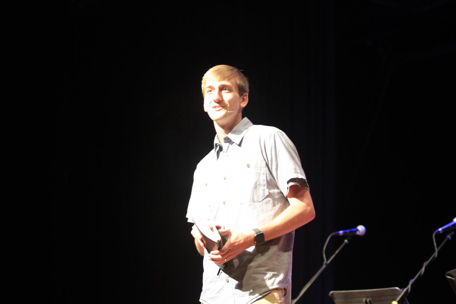 T.J. Classen from Lex City Church was the featured speaker in Chapel on September 18.