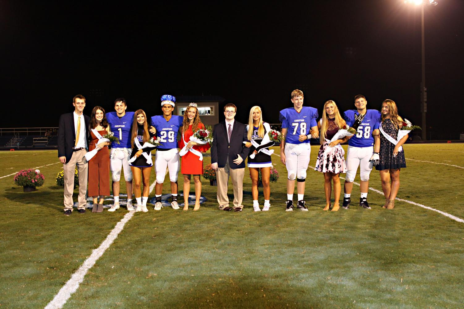 The 2018 Homecoming Court. This year's court will be announced during halftime at the football game on October 25.