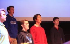 Mens' Chorus Sings in Chapel