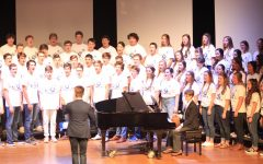 The various choruses performed their annual Fall Concert.