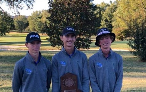 Boys' Golf Finishes Third in State