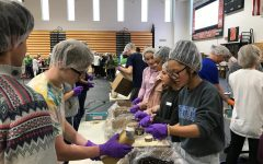 Students and Staff Lend a Helping Hand