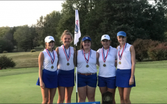 Girls' Golf Team Repeats as State Champs