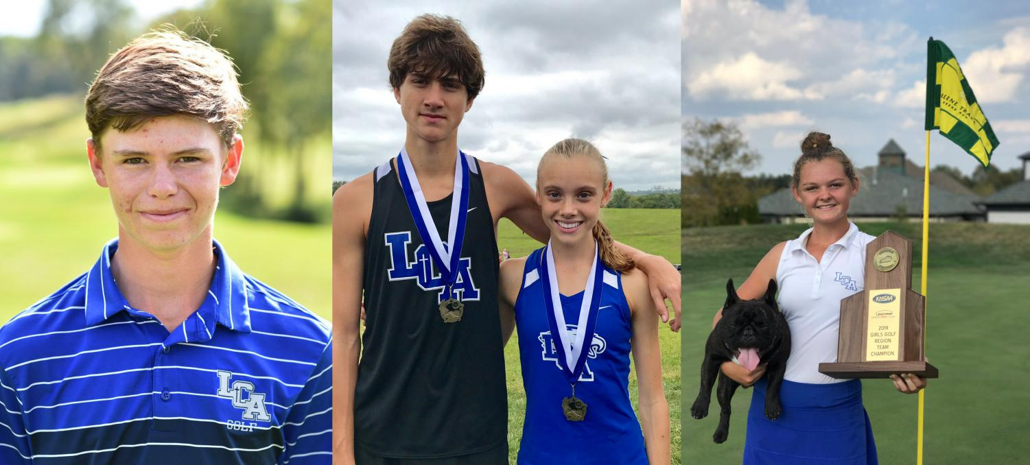 Jansen Preston, 12, Connor Hayes, 12, Anna Rupp, 10, and Laney Frye, 12 recently received high honors for their athletic achievements.