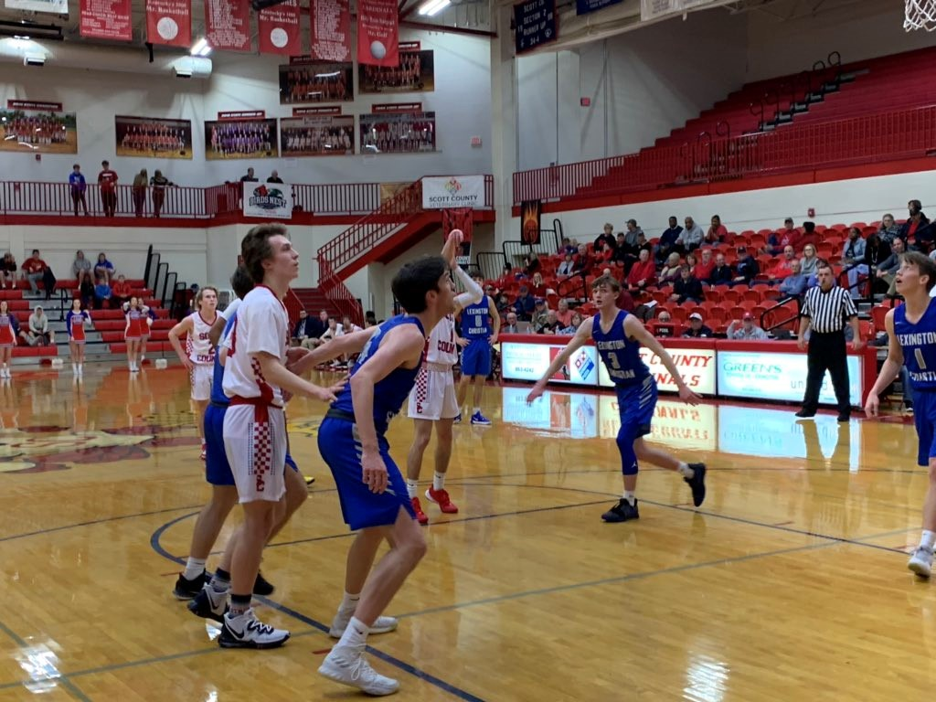 Boys' Basketball takes on Scott County in an early season match-up.