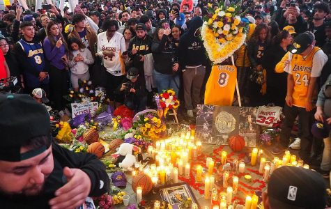 The death of Kobe Bryant prompts an outpouring of grief around the world.