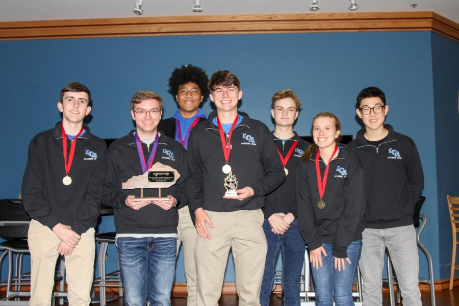 LCA Academic Team Advances to Regionals