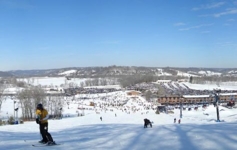 Students took advantage of the sick days to tackle the slopes at Perfect North.