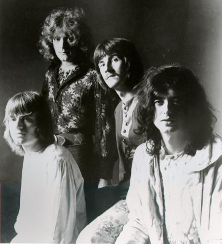 Led Zepplin promo photo.