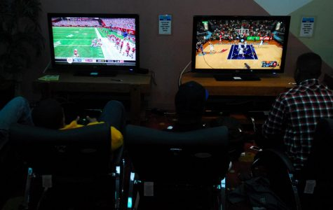 Video games are a popular way to spend the time indoors.