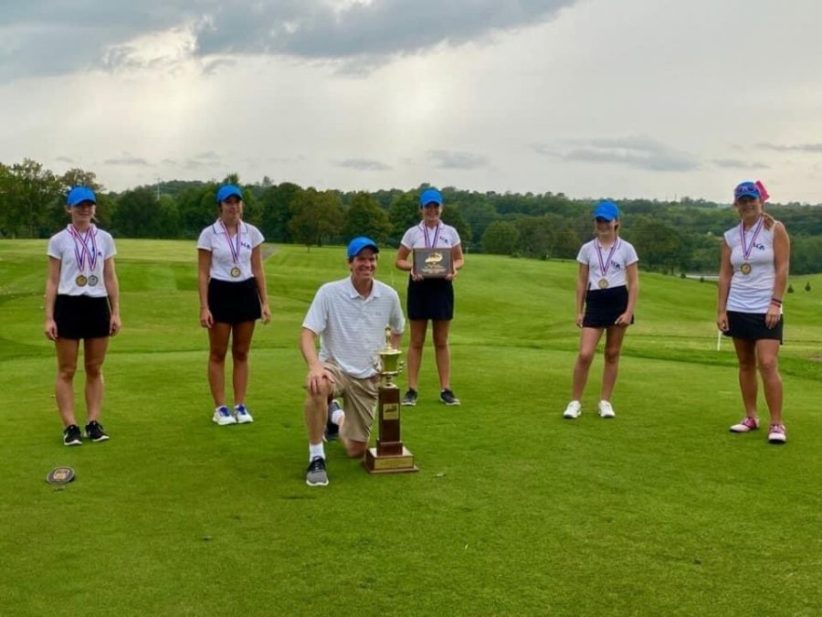 Girls Golf A All Win