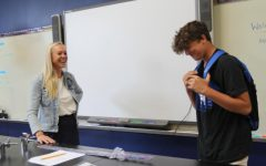 New Teachers Welcome Students