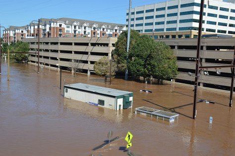 Flooding from Tropical Storm Ida in Conshohocken, PA.